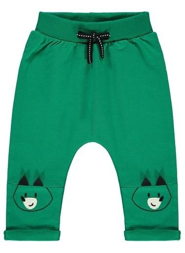 Civil Baby Erkek Bebek Patiksiz Tek Alt Yeşil
